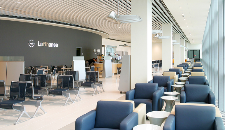 Lounge design  Lufthansa Business Lounge Design - Hollin+Radoske Architects - DE